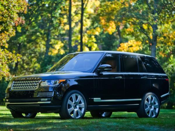 Range Rover угоняют чаще других