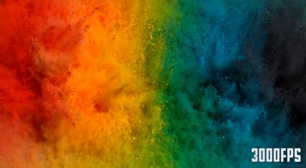 Перешивание красок на барабане