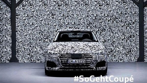 Audi показала тизер новой A5