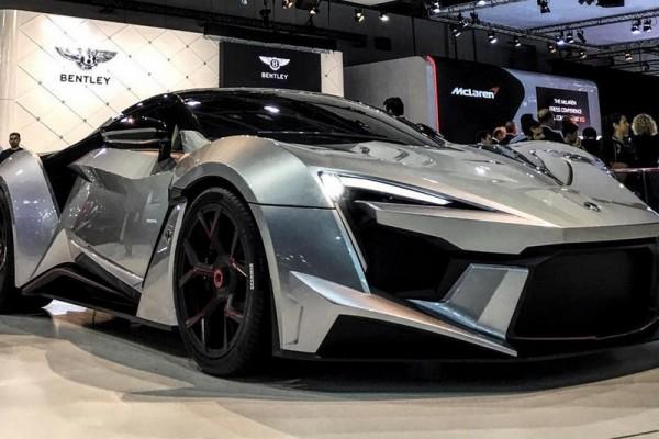 Арабский суперкар Fenyr SuperSport