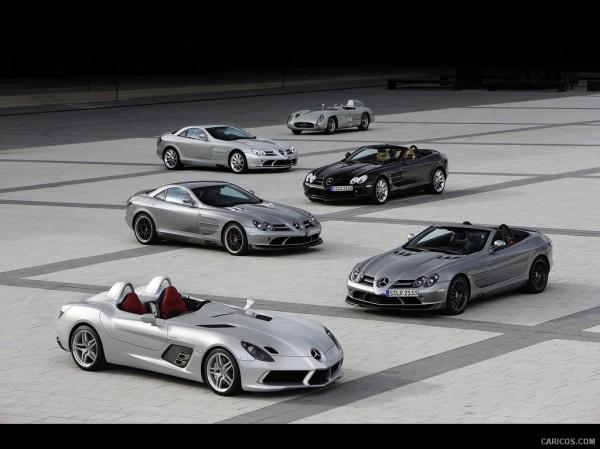 Mercedes-Benz SLR обложат новым налогом