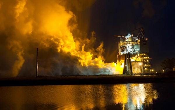 Проводились испытания на стенде A-1 в Космическом центре имени Джона Стенниса.