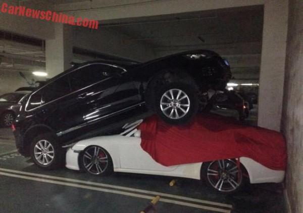 Особенности парковки в Китае