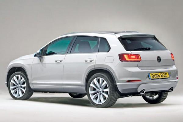 Новый Volkswagen Tiguan (фотошоп)