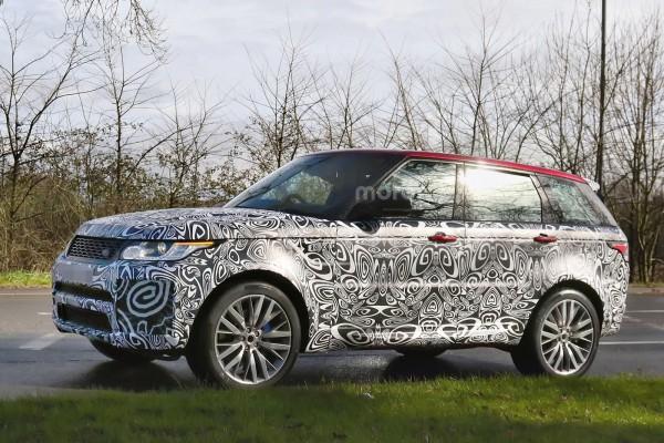 Range Rover Sport SVR получит 576-сильный мотор