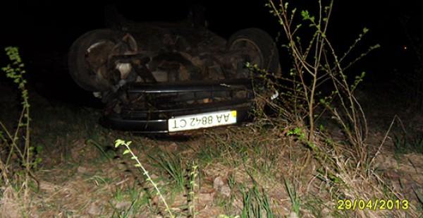 Opel Astra врезался в микроавтобус