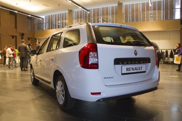 Новый Renault Logan MCV