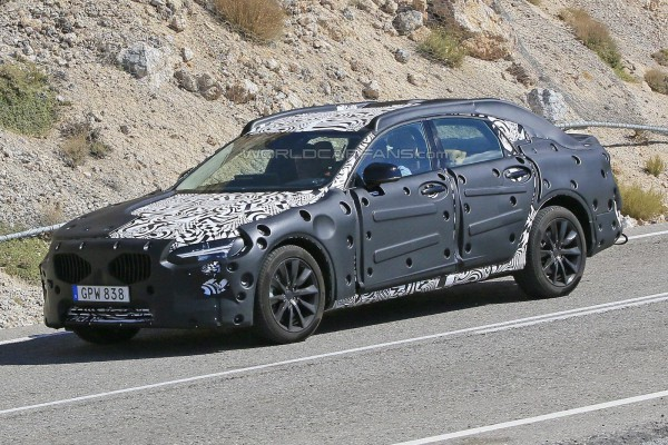 Volvo S90 на тестах