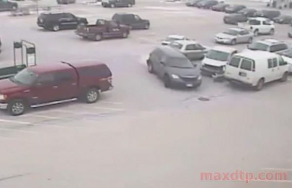 Машины пострадали не сильно