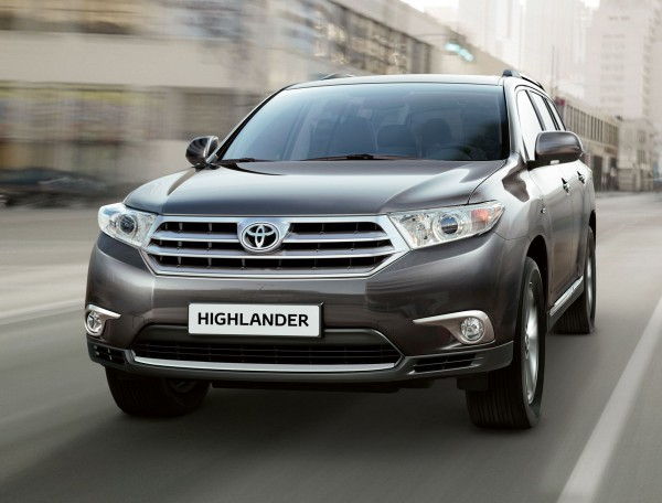 4. Toyota Highlander