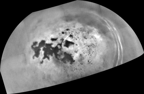 Фотография морей Титана