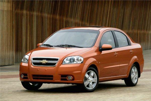 Chevrolet Aveo – 8 место по итогам квартала и 5 в апреле