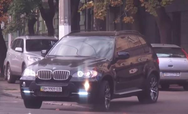 Военком в Одессе ездит на BMW