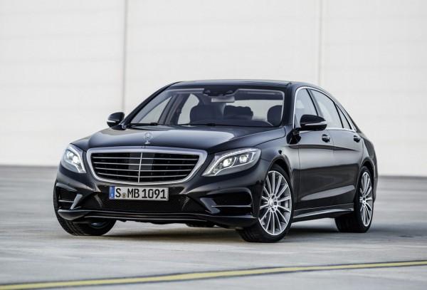 Новый Mercedes S-Class скоро можно будет увидеть на дорогах