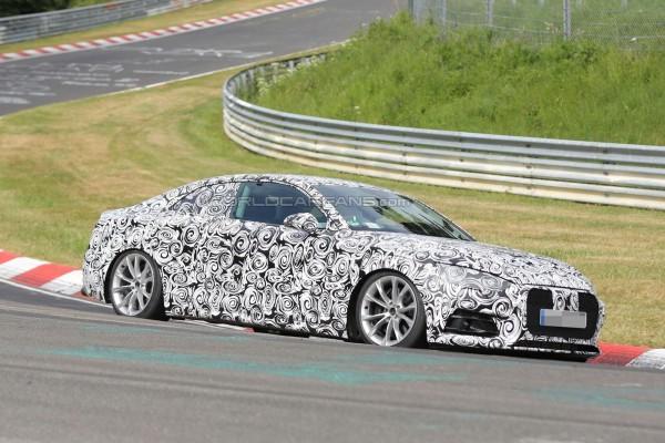 Audi S5 Coupe вывели на тесты