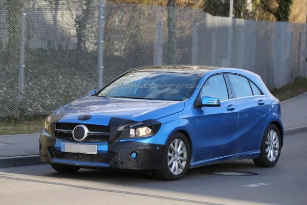 Обновленный Mercedes-Benz A-Class