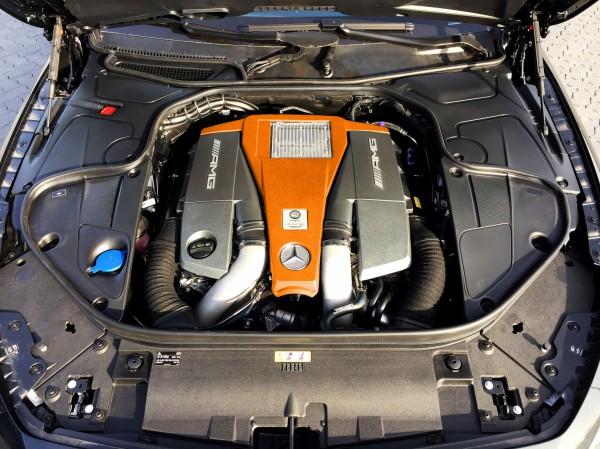 Двигатель Mercedes-Benz S 63 AMG от G Power