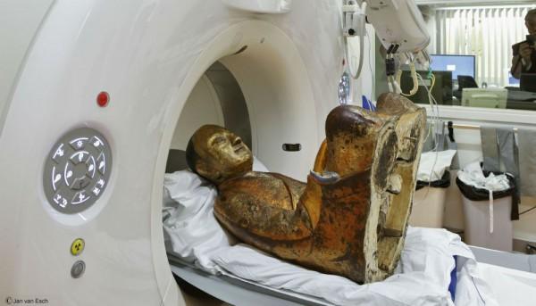 Сканирование статуи Будды