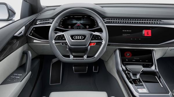 Купеоразный кроссовер от Audi