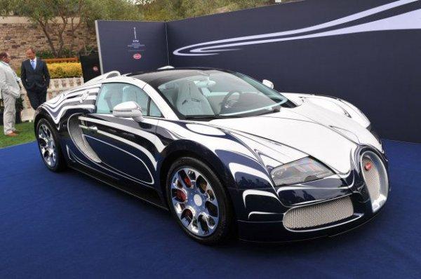 Bugatti Veyron L'Or Blanc Edition – один самых дорогих суперкаров в мире