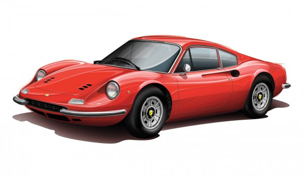 Ferrari Dino 246 GT – $100 000
