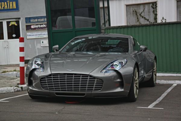 Aston Martin One-77 в Киеве