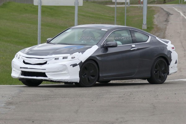 Обновленное купе Accord
