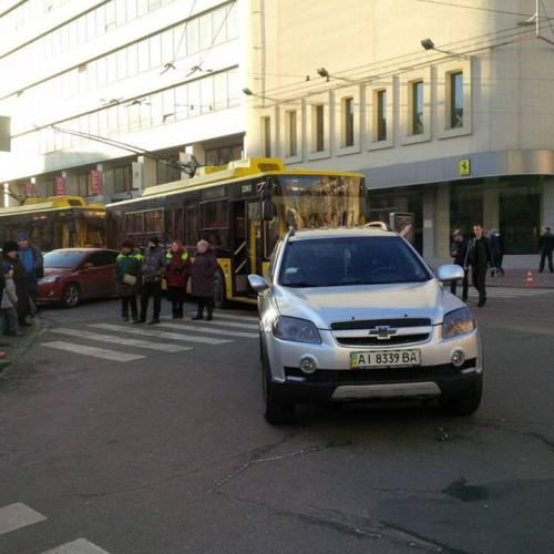 Особенности парковки в Киеве
