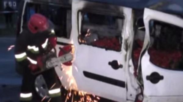В аварии погибли четверо