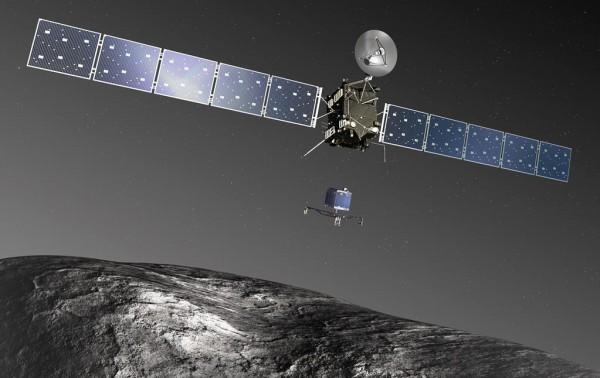 Космический зонд высадился на комету Чурюмова-Герасименко