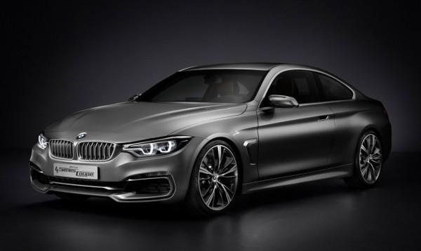 BMW 4-Series Сoupe Concept покажут в Детройте
