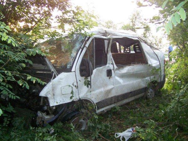 ДТП в Киевской области: 1 погибший, 9 травмированных