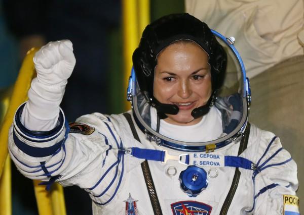 Елена Серова полетела в космос