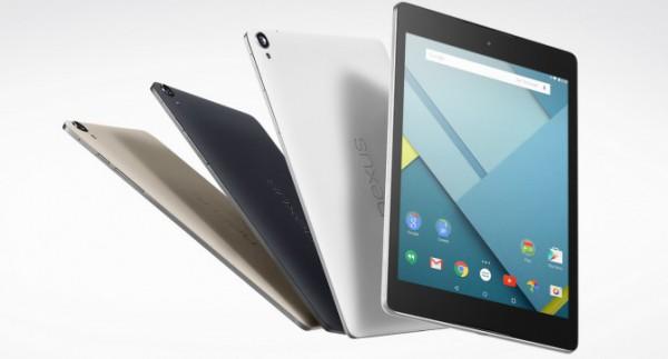 Стала известна цена нового Google Nexus 9