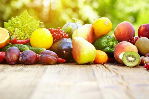 Яркая цветная диета