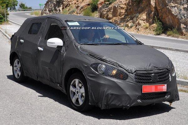 Японцы проводят испытания нового Suzuki SX4