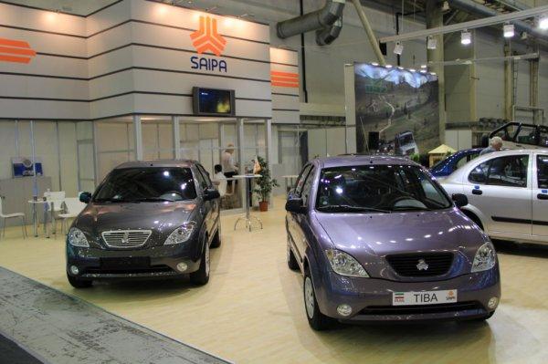 Новинки Saipa на выставке SIA 2012