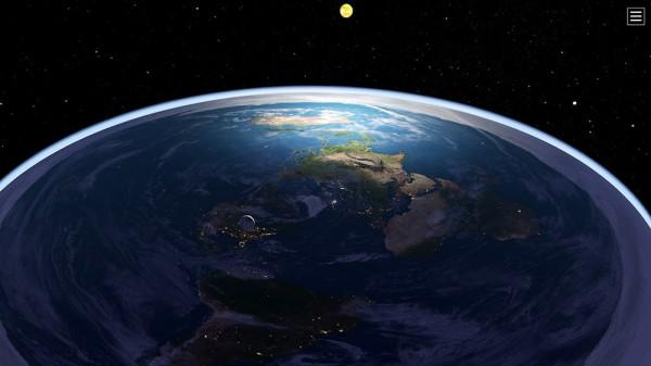 Путешествовать по плоской Земле было бы непросто