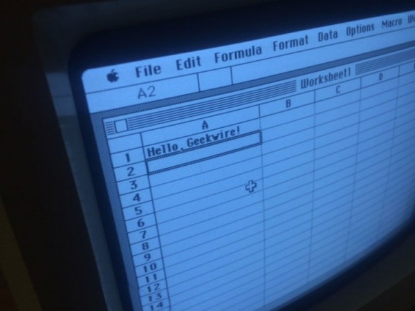 Первая версия Excel