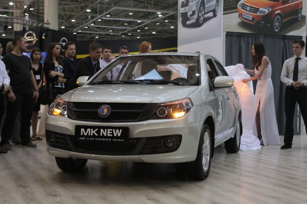 SIA 2013: Geely MK New