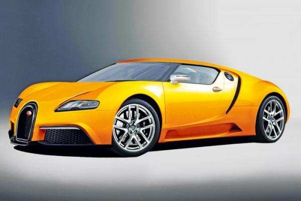 Неофициальная иллюстрация нового Bugatti Veyron