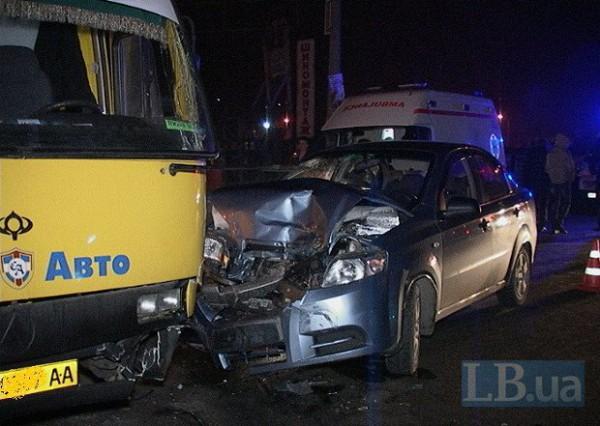 Пассажир Chevrolet попал в больницу