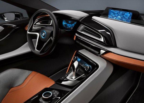 Салон BMW i8 Spyder