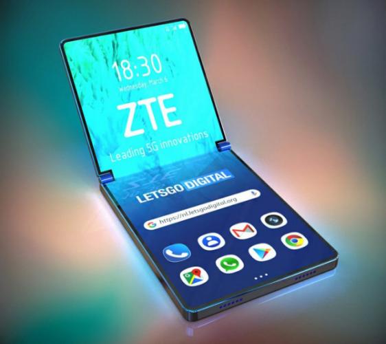 Складной смартфон ZTE