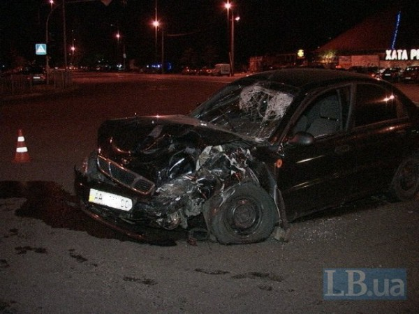 Daewoo получила серьезные повреждения