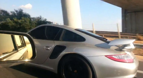 ВАЗ-2104 обгоняет Porsche 911 GT2 RS