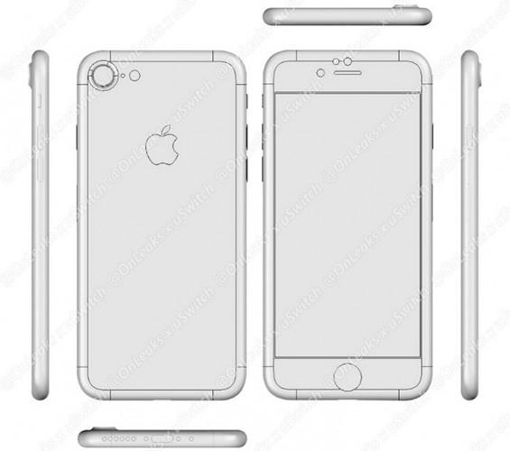 Один из возможных вариантов iPhone 7