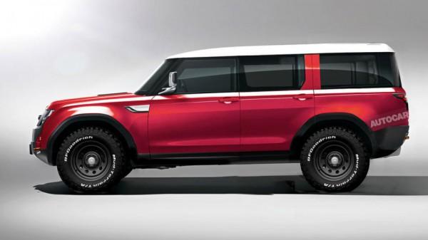 Вот так может выглядеть Land Rover Defender