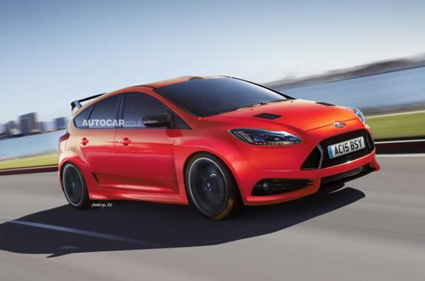 Неофициальная иллюстрация нового Ford Focus RS
