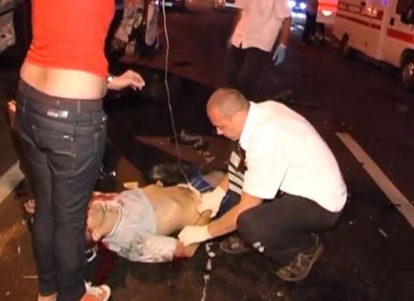 Очевидец ДТП хотел помочь водителю - и погиб из-за милиционера